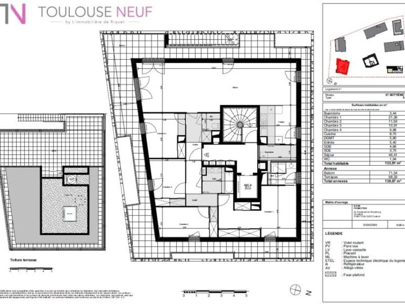 Vente appartement Toulouse 750000€ - Photo 5