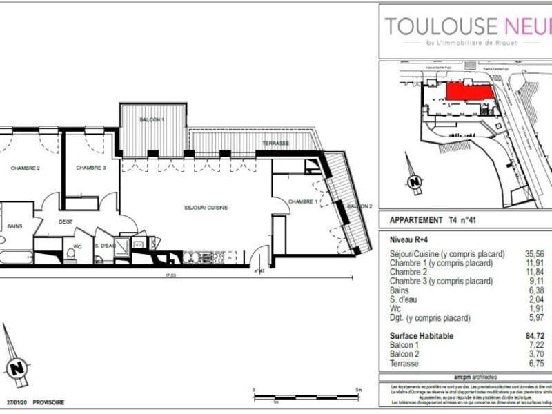 Vente appartement Toulouse 548000€ - Photo 6
