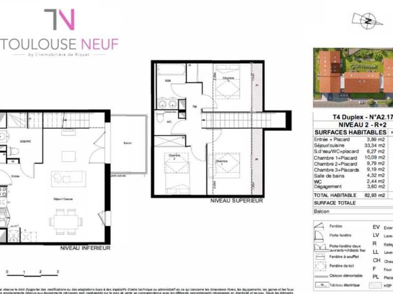 Vente appartement Castanet tolosan 290000€ - Photo 10