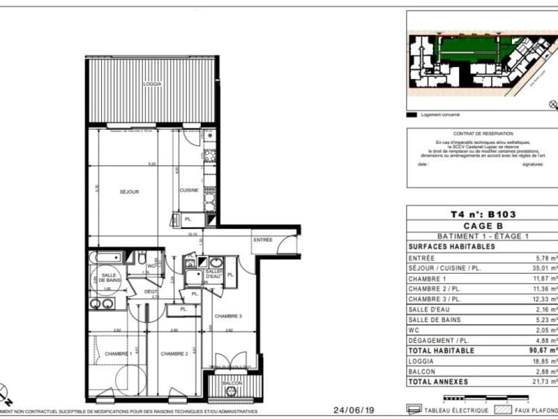 Vente appartement Castanet tolosan 329900€ - Photo 10