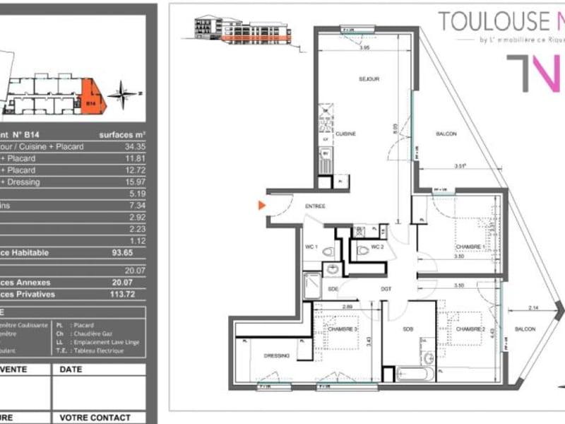 Vente appartement Toulouse 335000€ - Photo 10