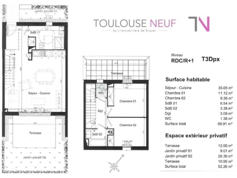 Vente maison / villa Toulouse 259000€ - Photo 9