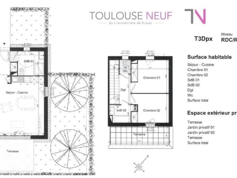 Vente maison / villa Toulouse 259000€ - Photo 10