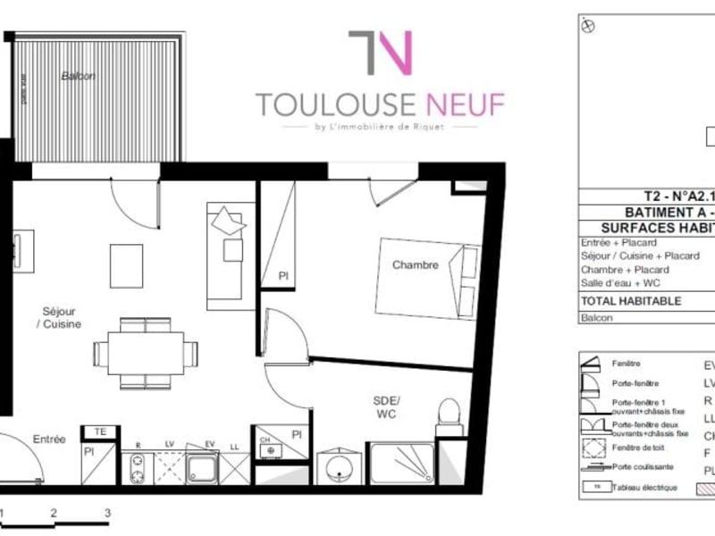 Vente appartement Toulouse 227000€ - Photo 9