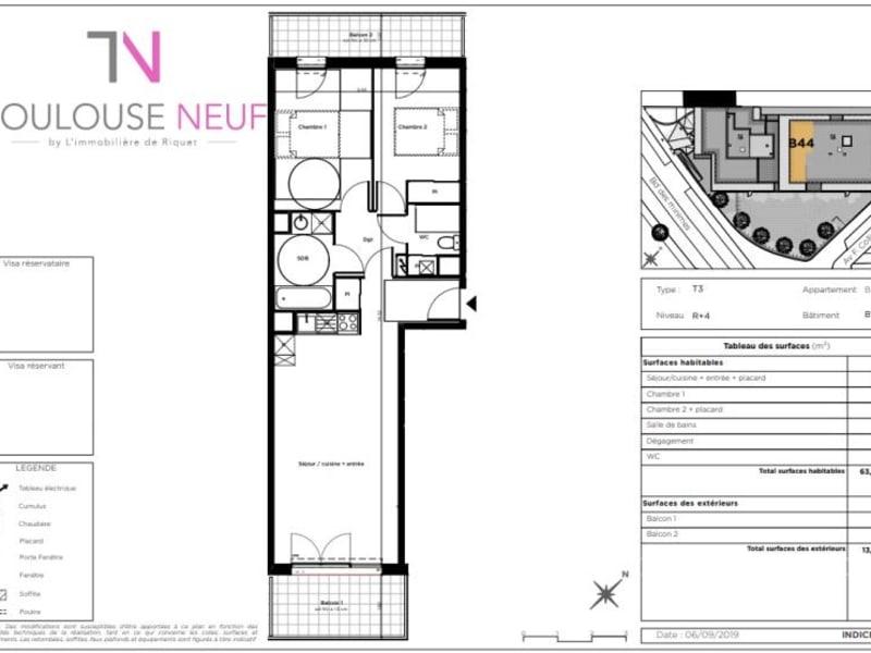 Vente appartement Toulouse 340600€ - Photo 4
