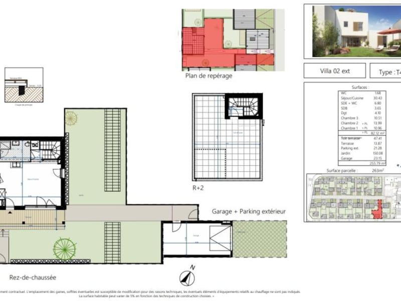 Vente maison / villa Beauzelle 334000€ - Photo 10