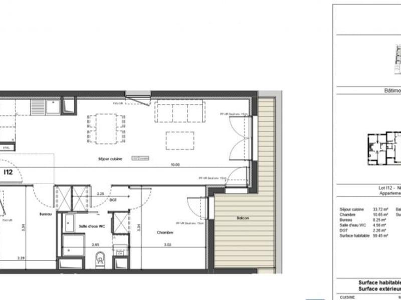 Vente appartement Balma 236000€ - Photo 4