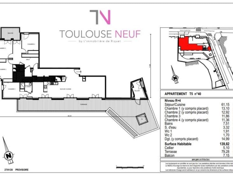 Vente appartement Toulouse 938000€ - Photo 5