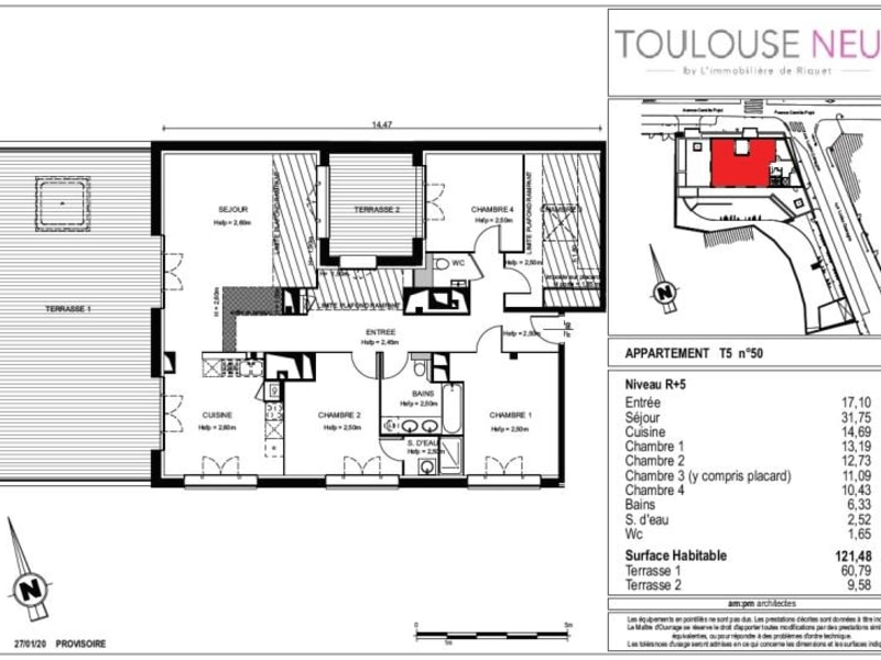 Vente appartement Toulouse 938000€ - Photo 6