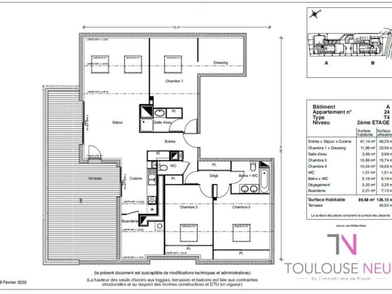 Vente appartement Castanet 372900€ - Photo 5