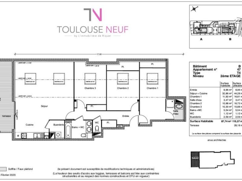 Vente appartement Castanet 372900€ - Photo 6