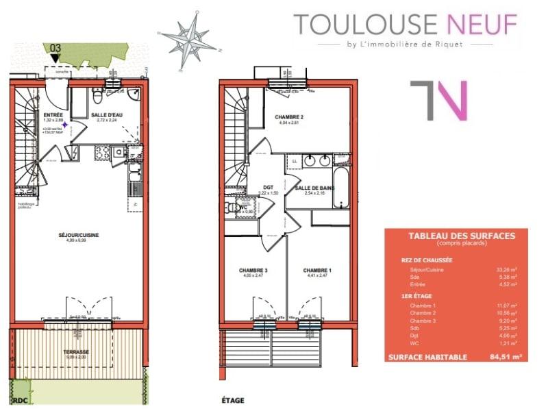 Vente maison / villa Castanet tolosan 294000€ - Photo 3