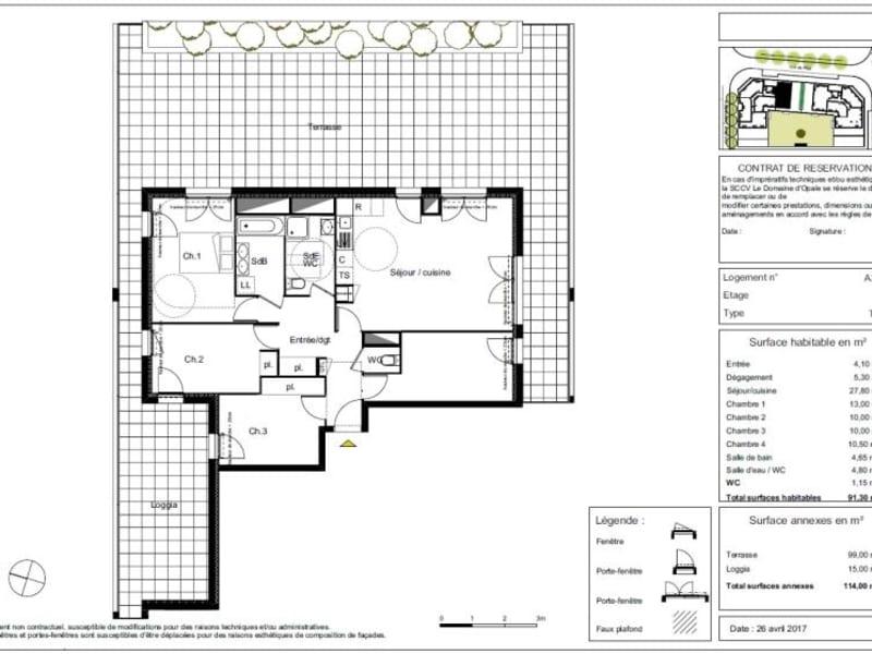 Vente appartement Beauzelle 372500€ - Photo 10
