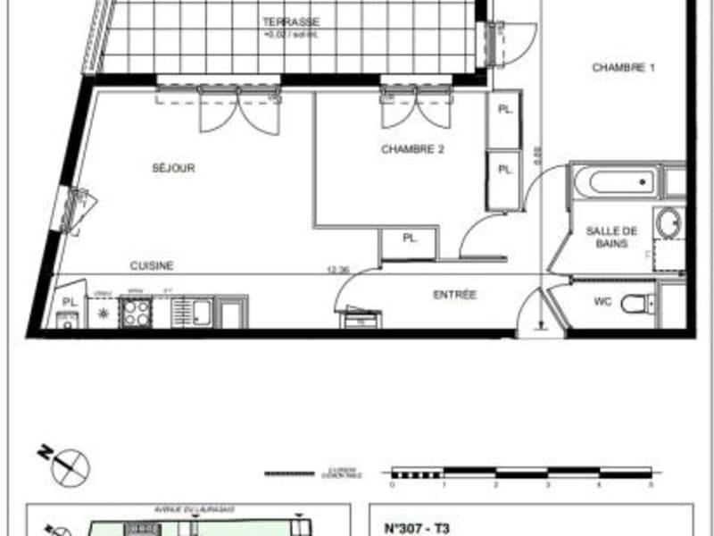 Vente appartement Castanet 240000€ - Photo 10