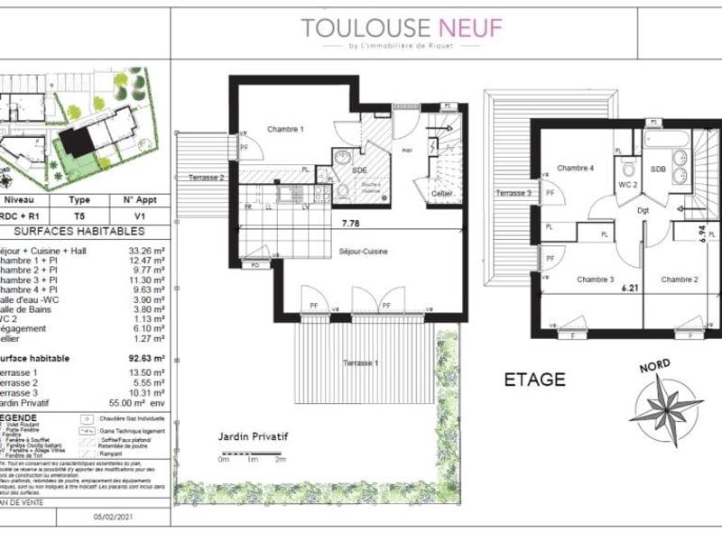 Vente maison / villa Toulouse 519900€ - Photo 4