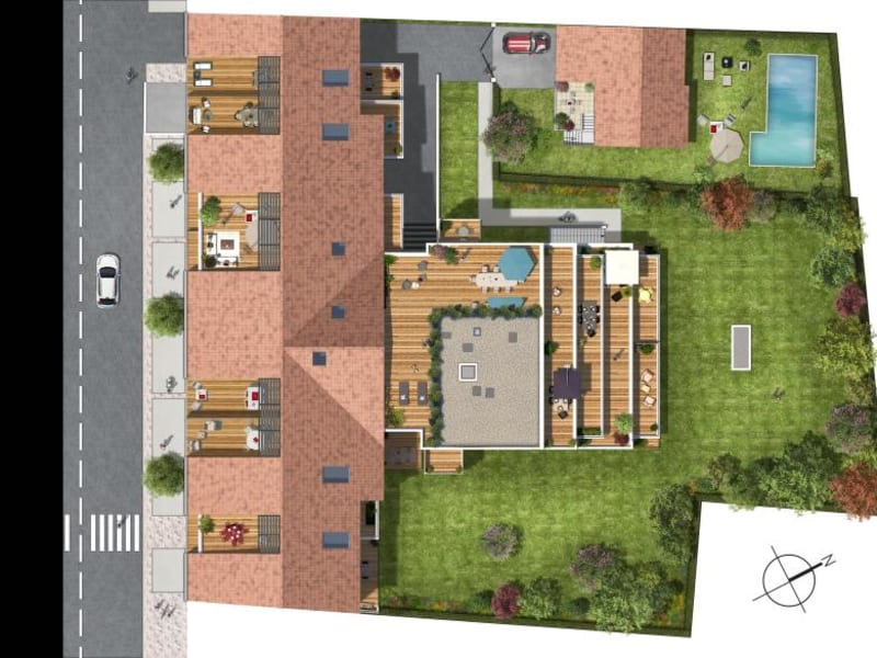 Vente appartement Toulouse 320000€ - Photo 8