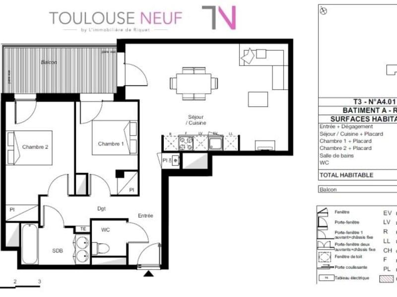 Vente appartement Toulouse 320000€ - Photo 9
