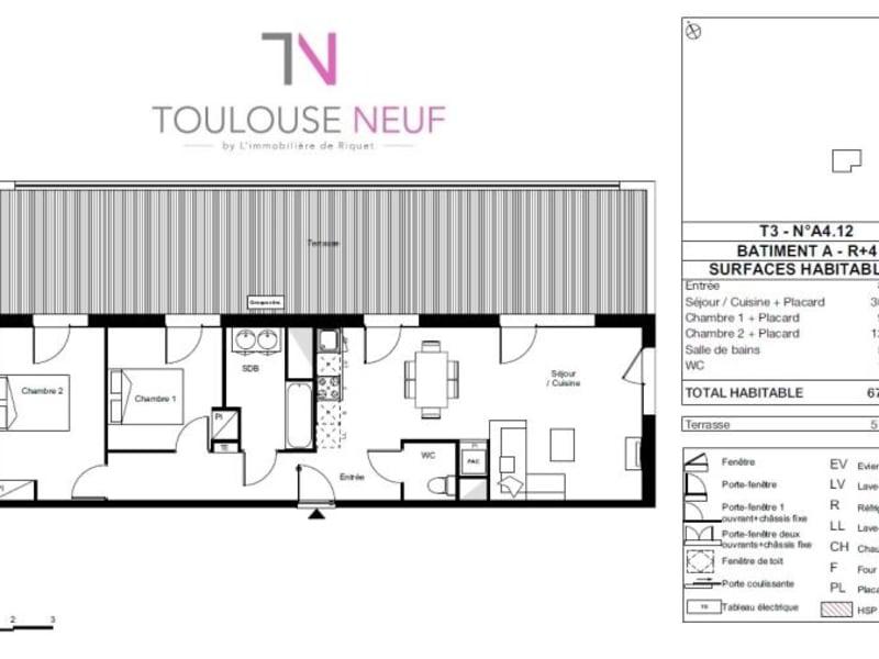 Vente appartement Toulouse 320000€ - Photo 10