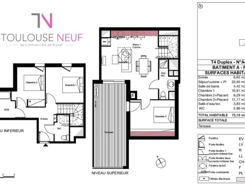 Vente appartement Toulouse 410000€ - Photo 7