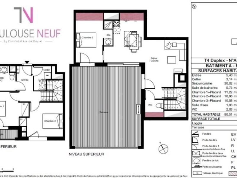 Vente appartement Toulouse 410000€ - Photo 8