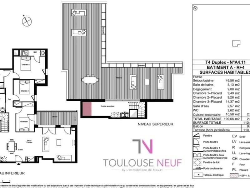 Vente appartement Toulouse 410000€ - Photo 9