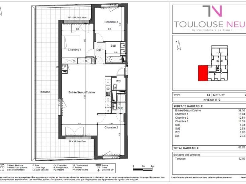 Vente appartement Toulouse 329000€ - Photo 10