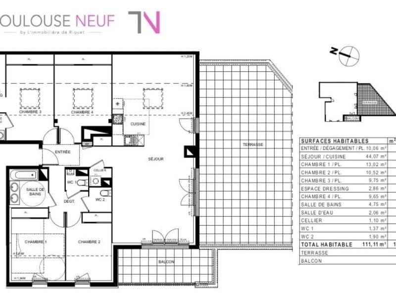 Vente appartement Castanet tolosan 559000€ - Photo 5