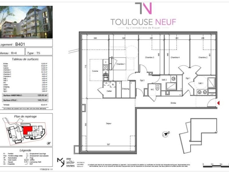 Vente appartement Blagnac 480000€ - Photo 9