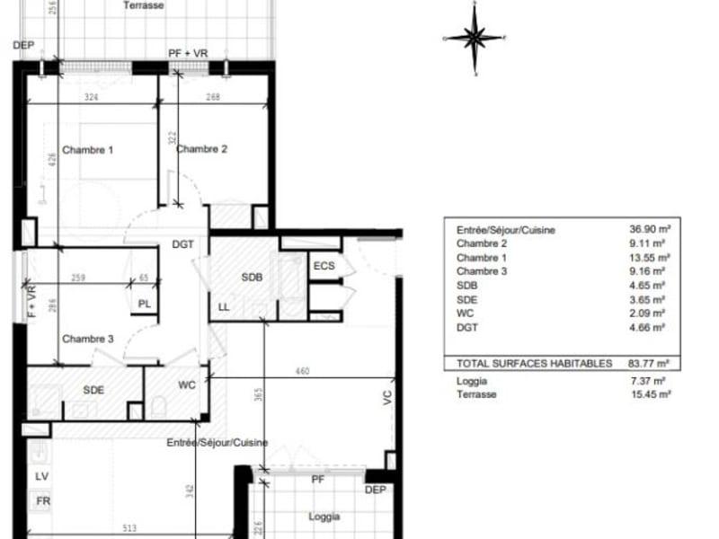 Vente appartement Toulouse 287000€ - Photo 10