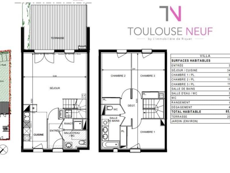 Vente maison / villa Castanet tolosan 359900€ - Photo 10