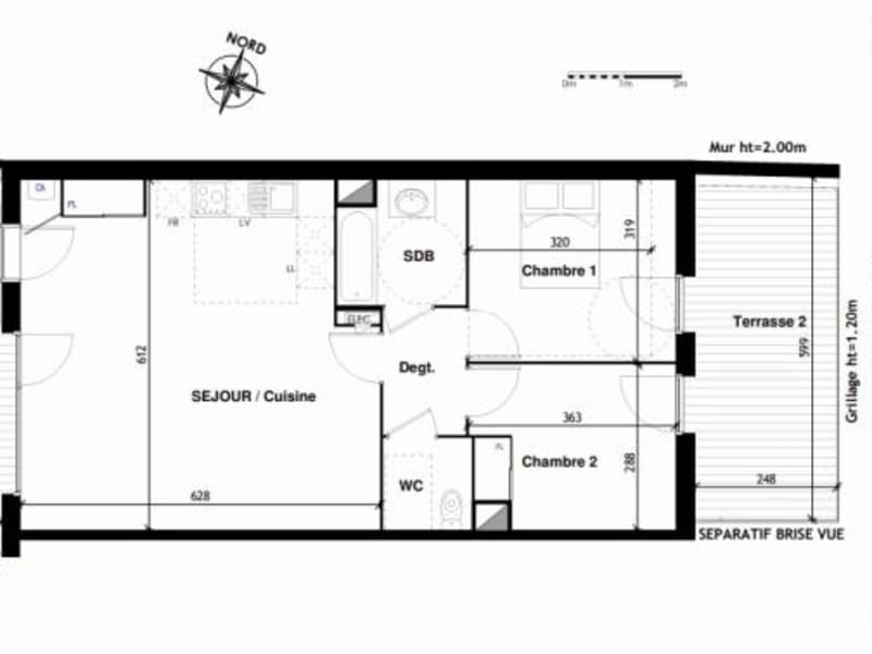 Vente appartement Toulouse 298000€ - Photo 10