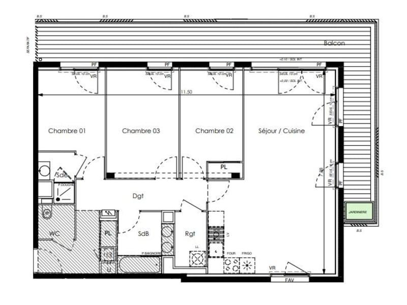 Vente appartement Toulouse 590000€ - Photo 5