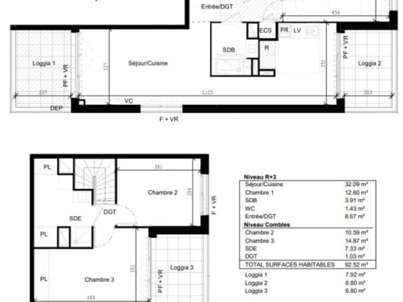 Vente appartement Toulouse 317000€ - Photo 10