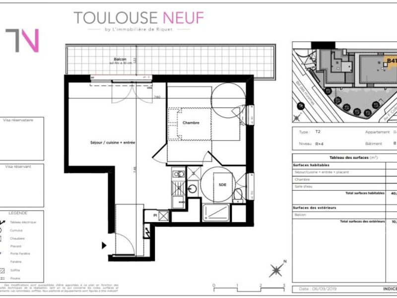 Vente appartement Toulouse 228500€ - Photo 4