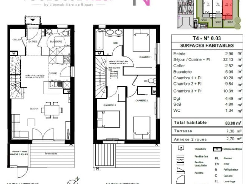 Vente maison / villa Saint jory 260000€ - Photo 7