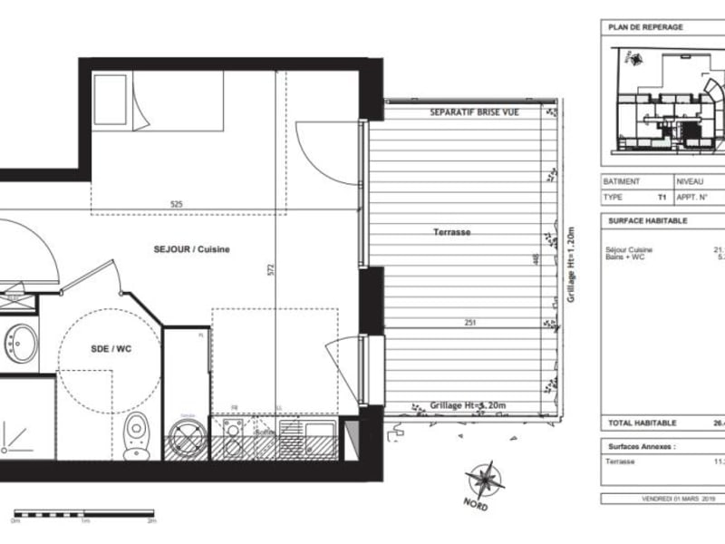 Vente appartement Toulouse 150000€ - Photo 7