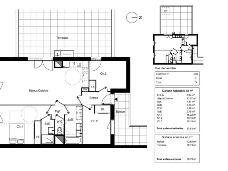 Vente appartement Blagnac 344900€ - Photo 8
