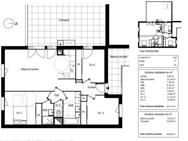 Vente appartement Blagnac 344900€ - Photo 9