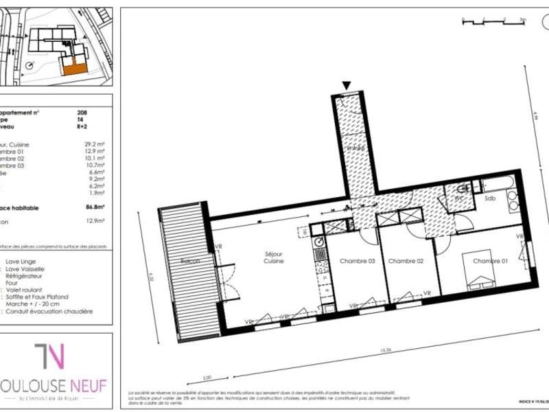 Vente appartement Saint orens de gameville 255000€ - Photo 6