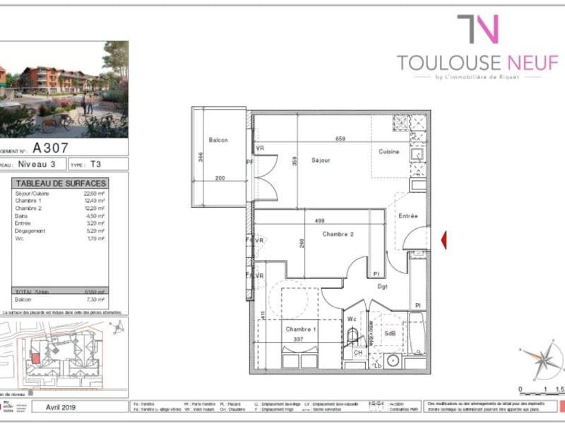 Vente appartement Saint orens de gameville 255900€ - Photo 8