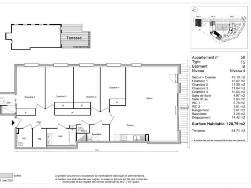 Vente appartement Montrabe 499900€ - Photo 5