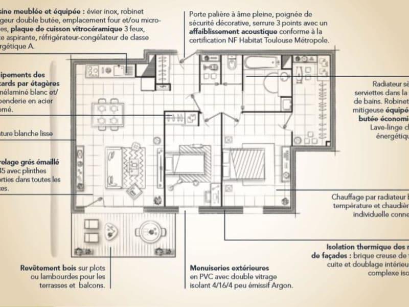 Vente appartement Montrabe 499900€ - Photo 7