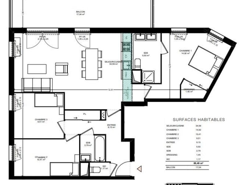 Vente appartement Toulouse 371000€ - Photo 9
