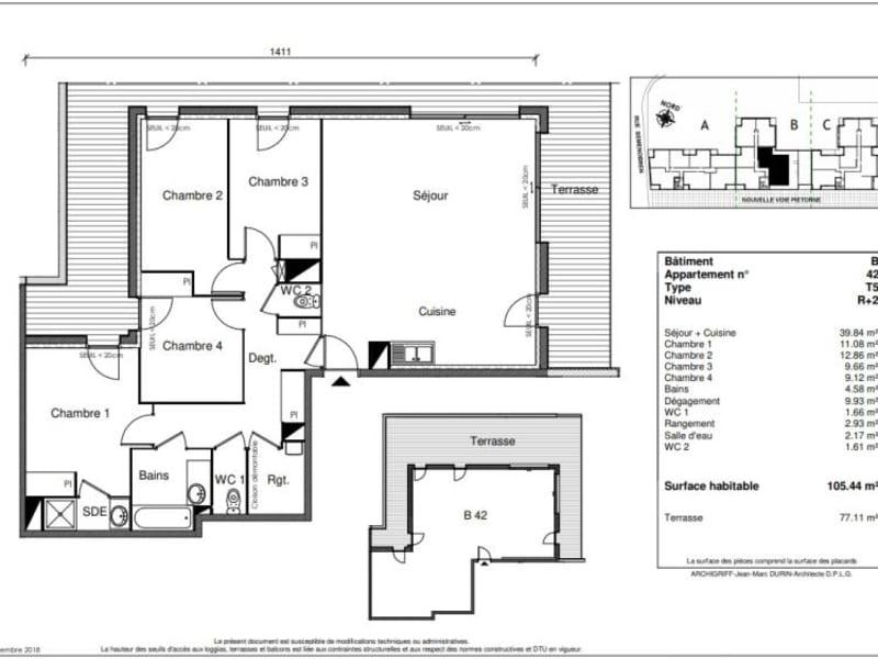 Vente appartement Castanet tolosan 460000€ - Photo 9