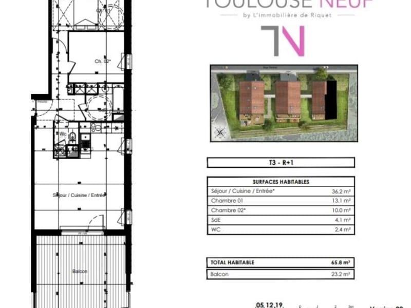 Vente appartement Toulouse 311000€ - Photo 9