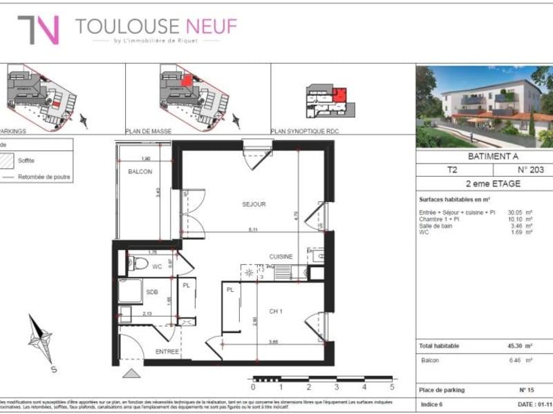 Vente appartement Rouffiac 182000€ - Photo 7