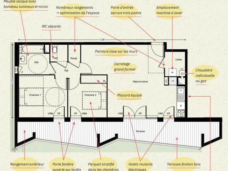 Vente appartement L'union 313000€ - Photo 4