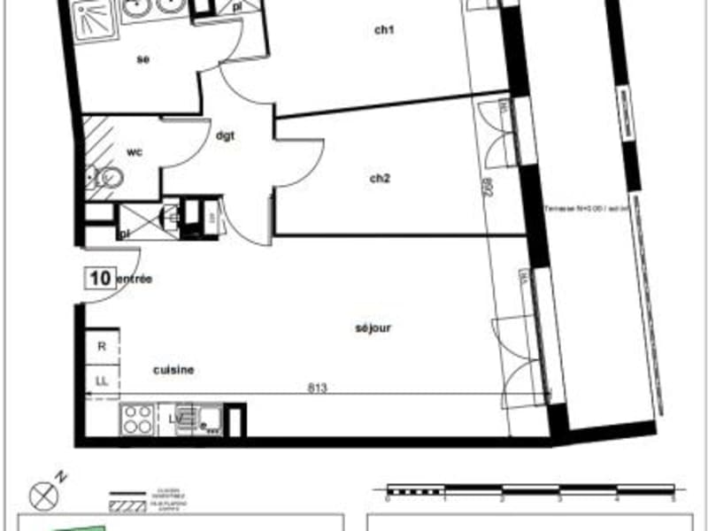 Vente appartement Toulouse 255000€ - Photo 10