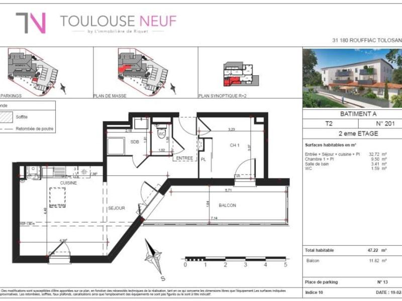 Vente appartement Rouffiac 199000€ - Photo 9