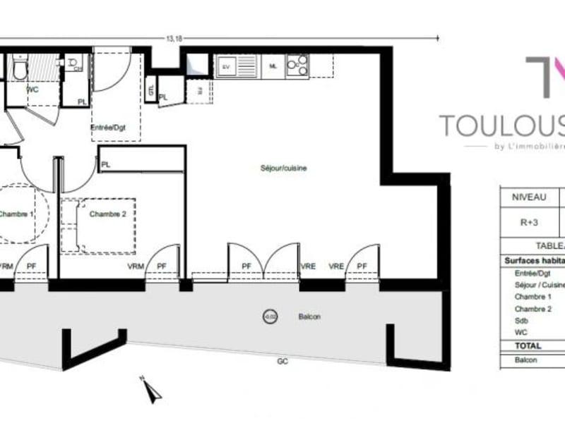 Vente appartement L'union 269000€ - Photo 4